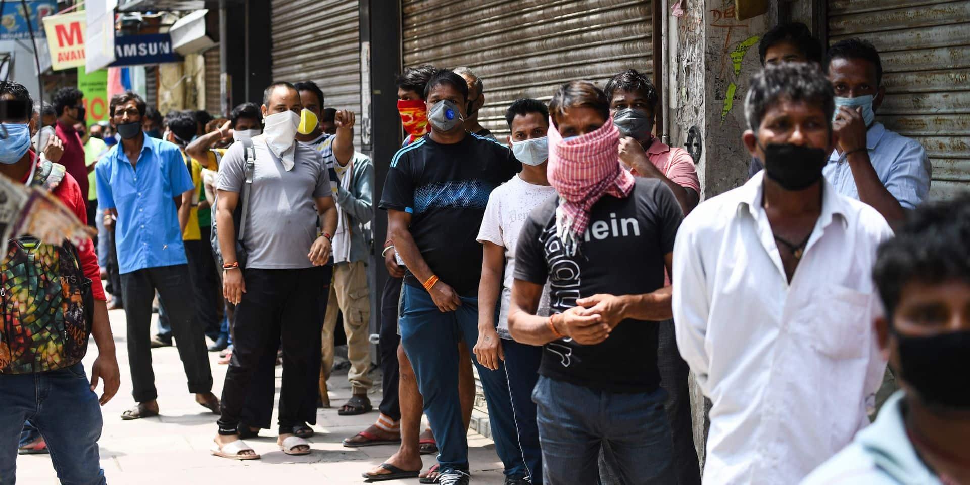 En Inde, le déconfinement a débuté alors que le pic épidémique se fait attendre