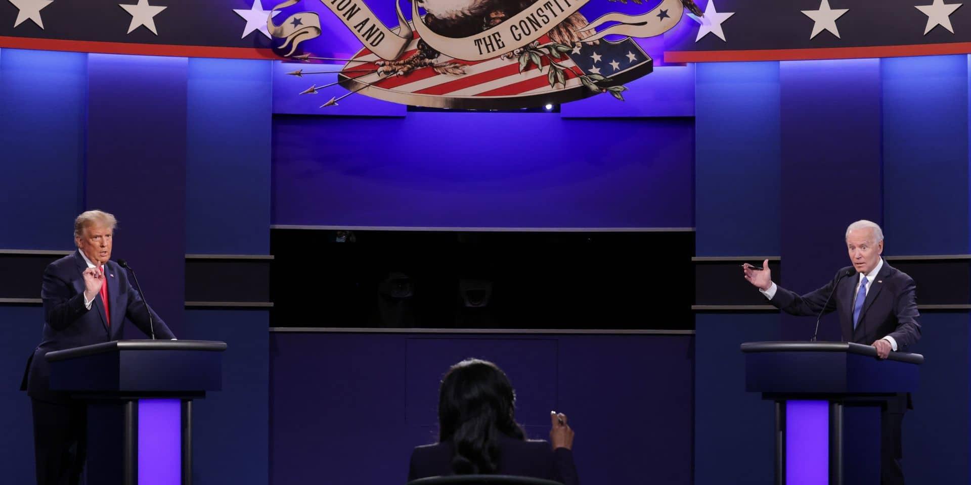 À quatre jours de l'élection présidentielle, qui de Donald Trump ou Joe Biden est en tête des derniers sondages?