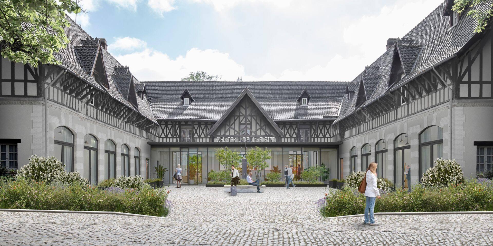 Projet de relance de l'hôtel au Château de Limelette: le promoteur doit revoir sa copie