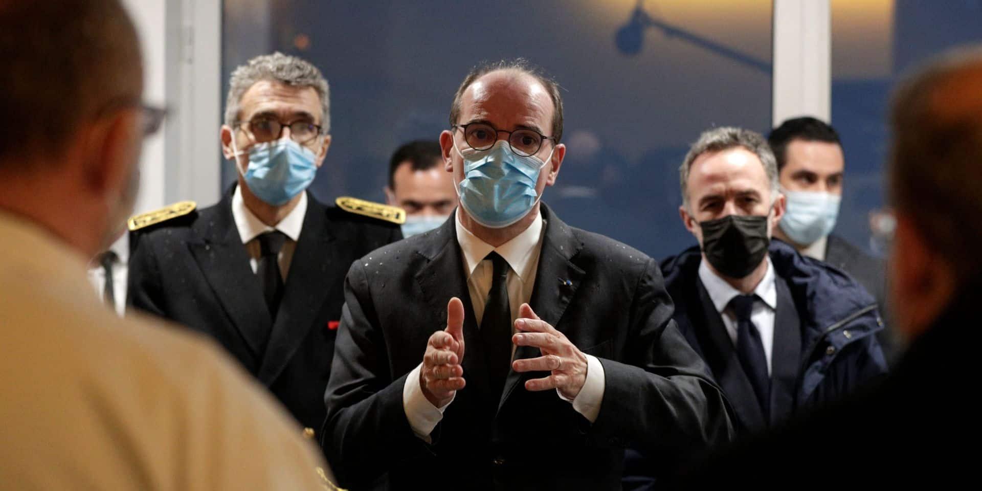 """Covid: la situation est """"extrêmement tendue"""" en Ile-de-France, alerte Castex"""