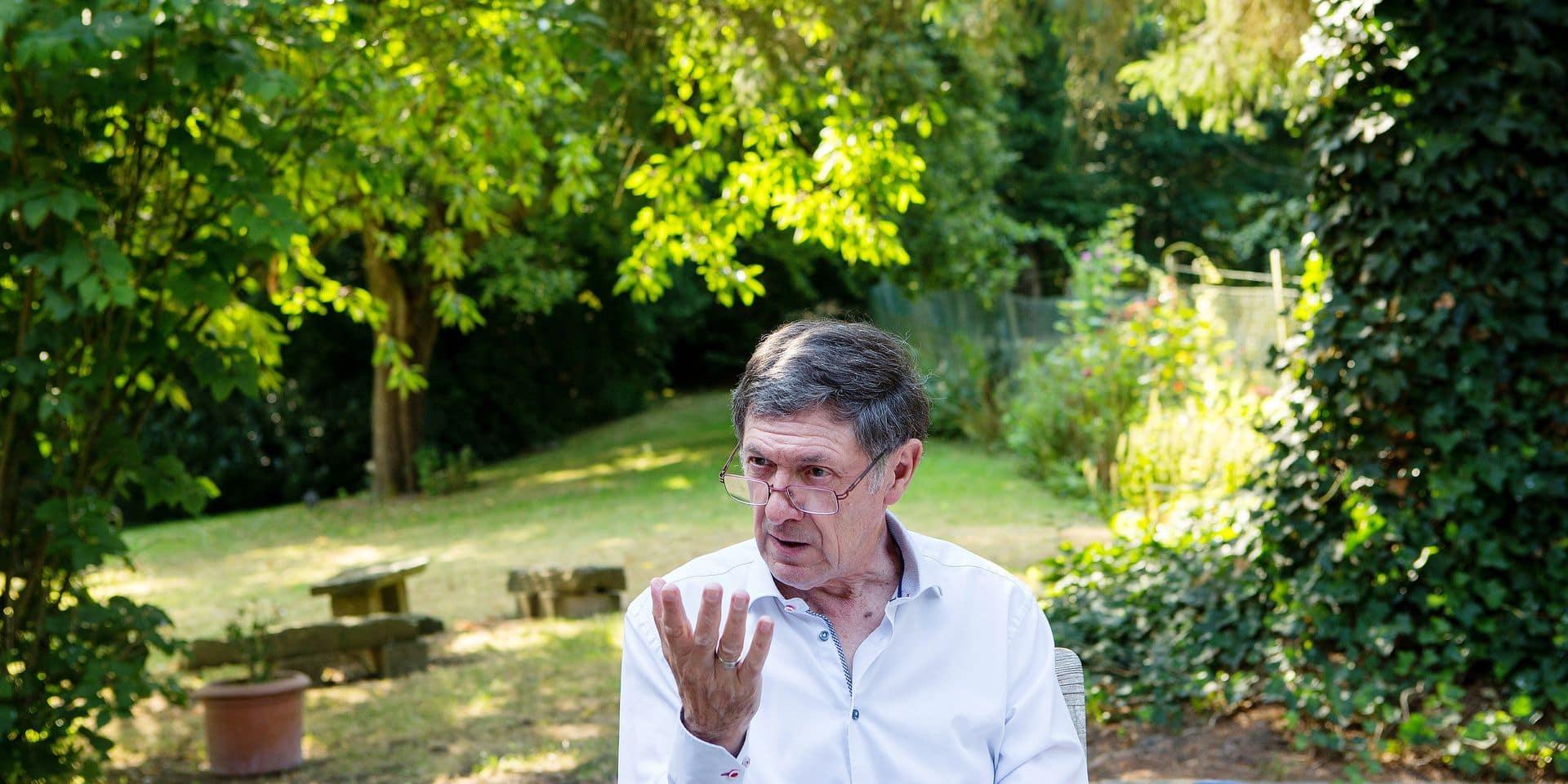 Gabriel Ringlet, pretre, auteur, ancien vice-recteur de l'UCL