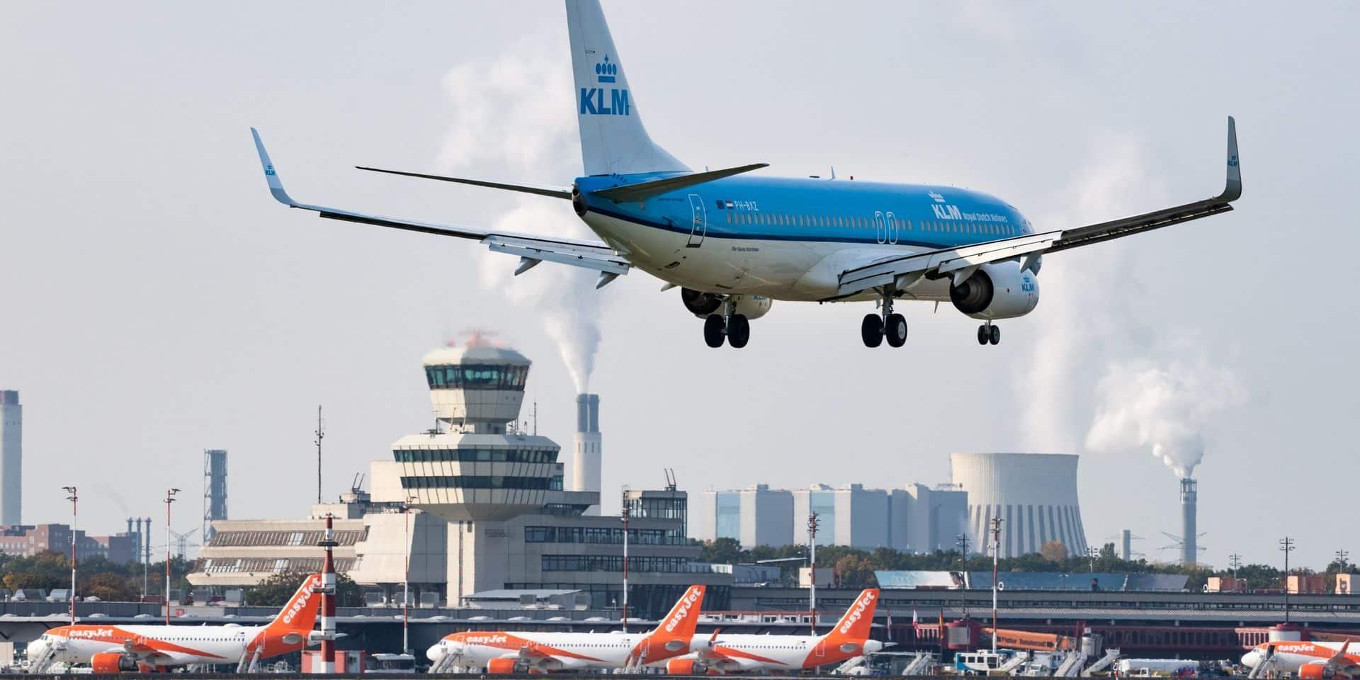 Le gouvernement néerlandais gèle un plan d'aide pour KLM