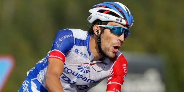 Thibaut Pinot remporte en solitaire le Tour de Lombardie, Teuns sur le podium - La Libre