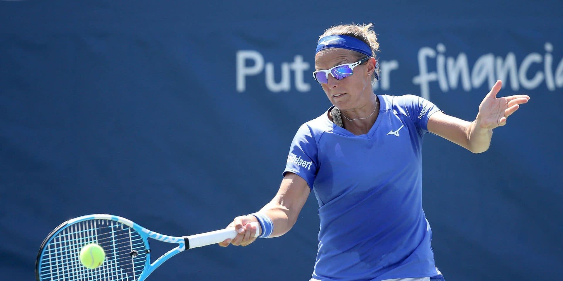 WTA Cincinnati: Flipkens et Van Uytvanck éliminées en double