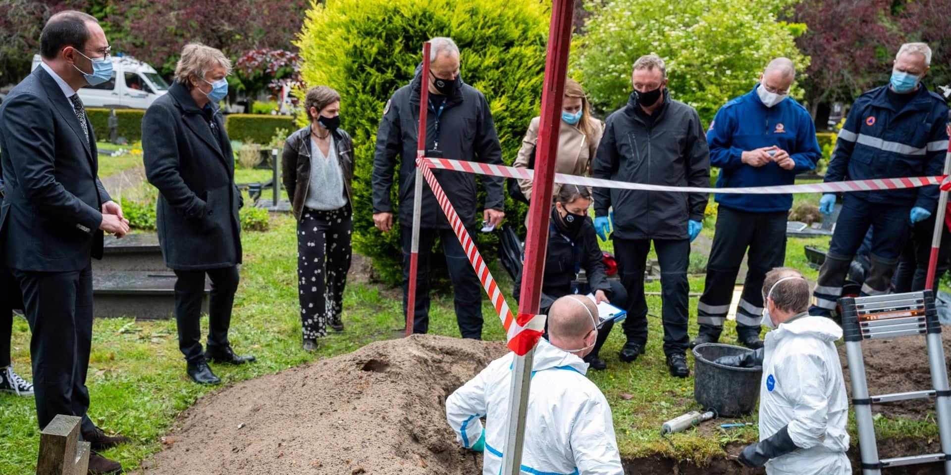 """L'opération """"Cimetière"""" veut identifier 250 corps inhumés sans nom en Belgique"""