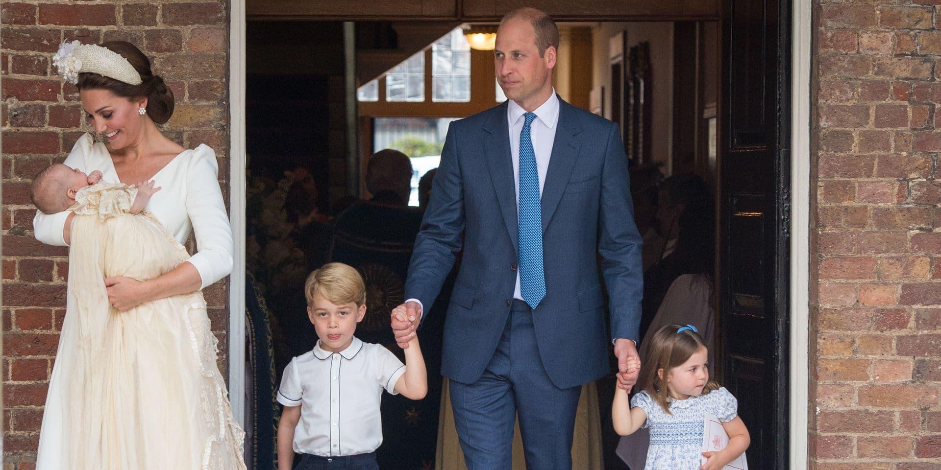 Kate Middleton dévoile l'adorable surnom que Charlotte et George donnent à leur père