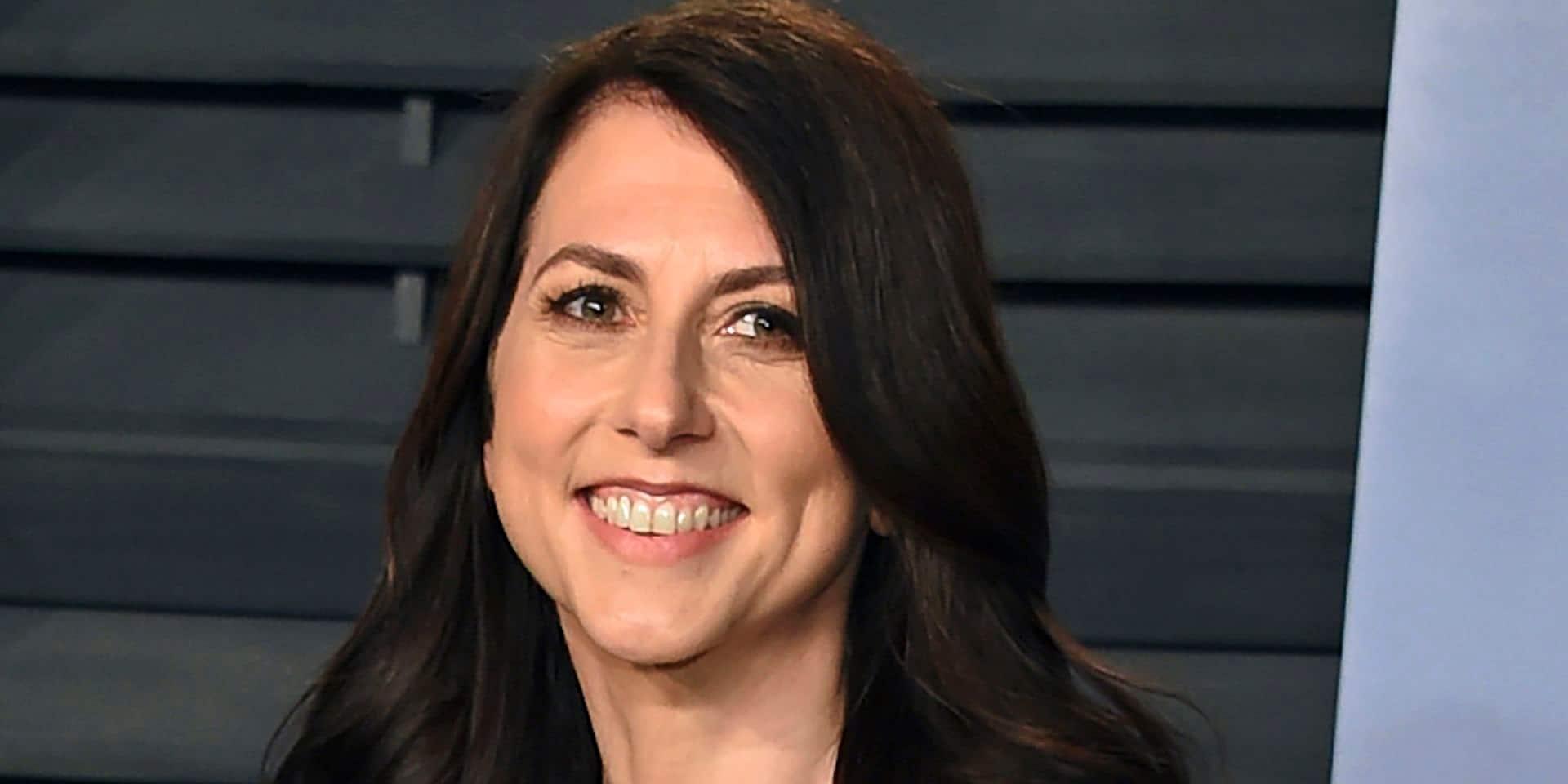 La milliardaire MacKenzie Scott, ex-femme de Jeff Bezos, s'est remariée