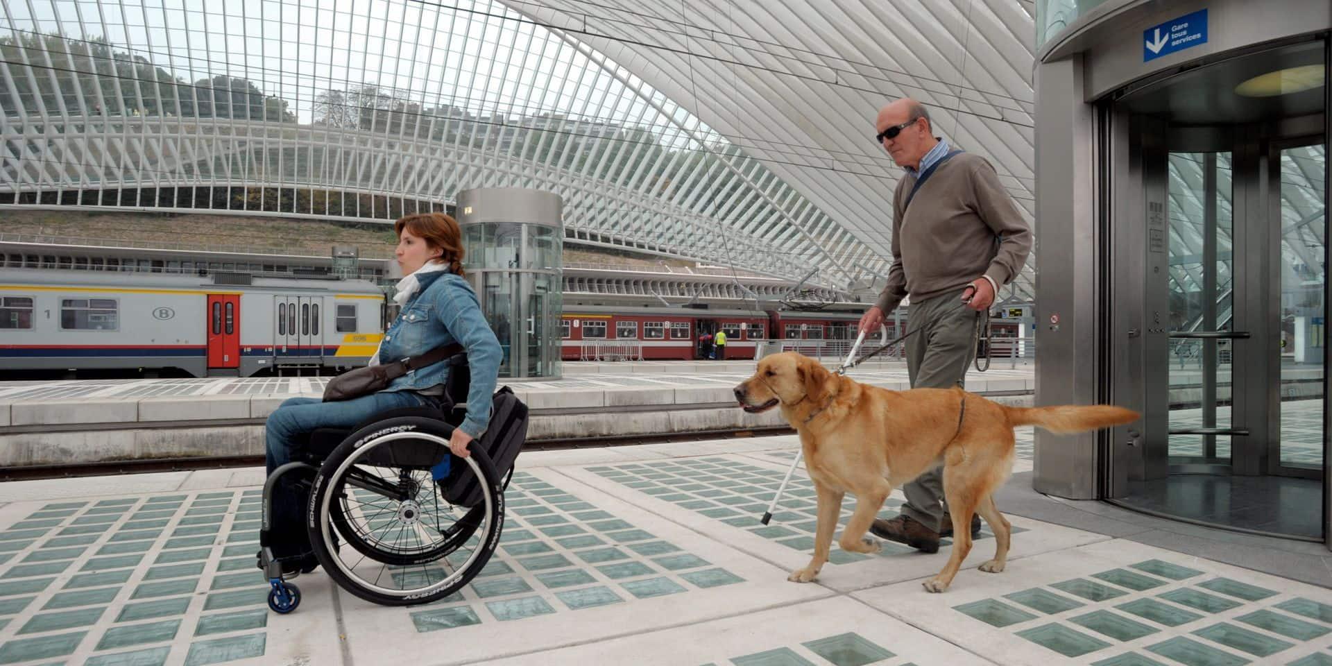 Seulement une gare sur cinq est accessible aux personnes à mobilité réduite