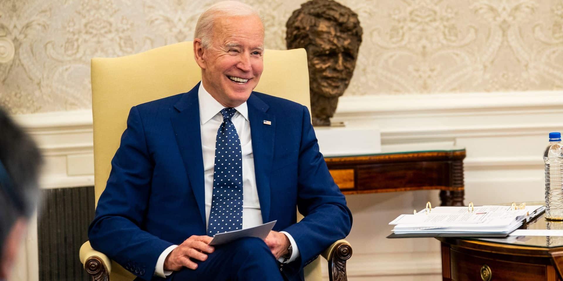 Au vu des indicateurs économiques américains, Joe Biden peut avoir le sourire.