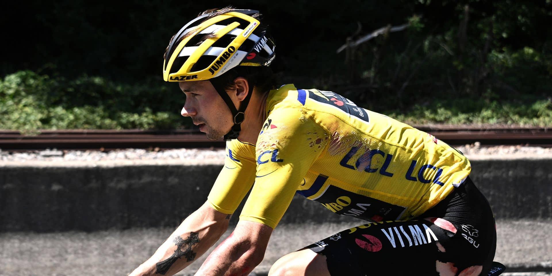 Critérium du Dauphiné: Primoz Roglic abandonne