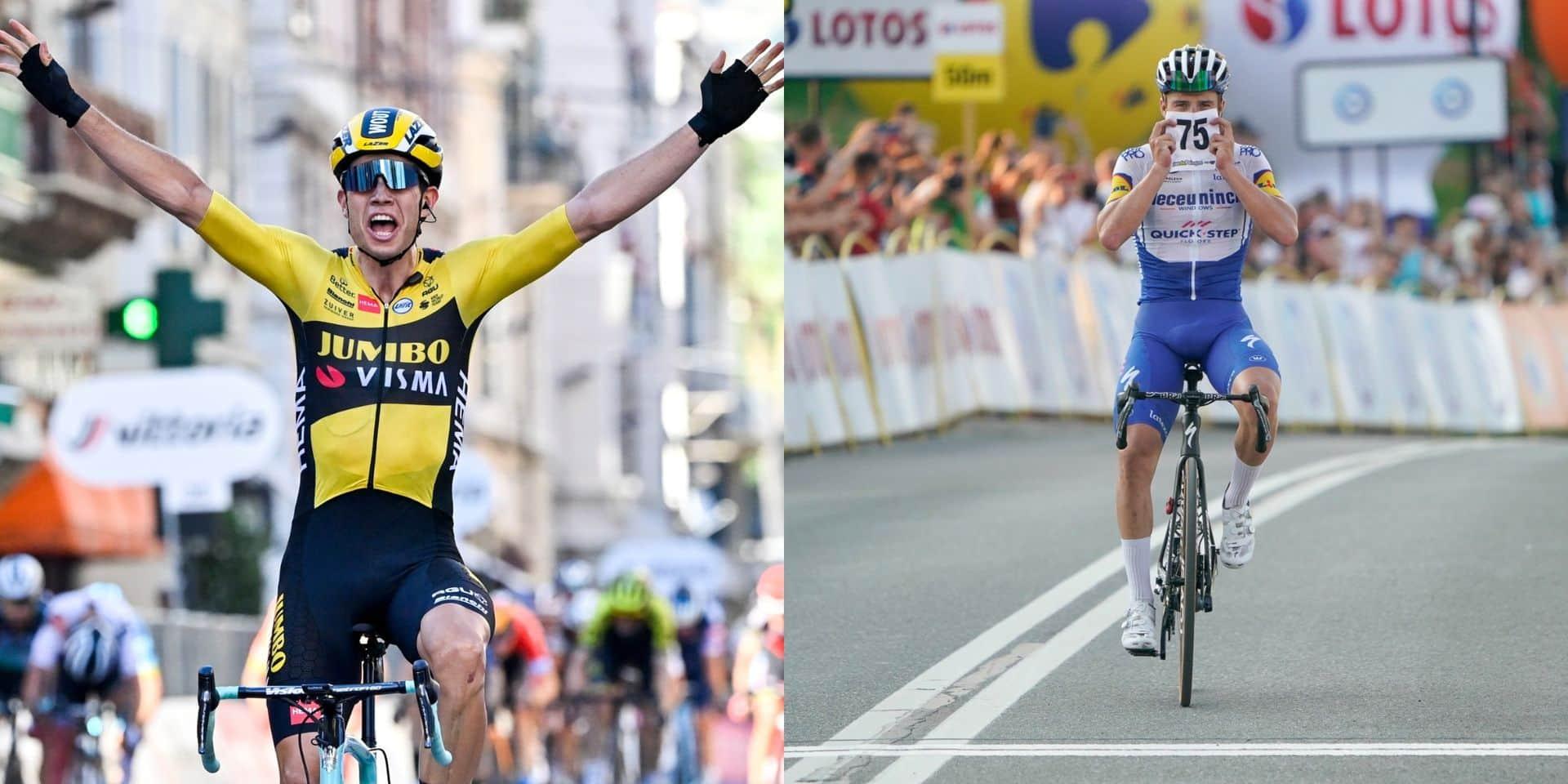 """La presse étrangère nous envie Van Aert et Evenepoel : """"Ce sont les nouvelles étoiles du cyclisme"""""""