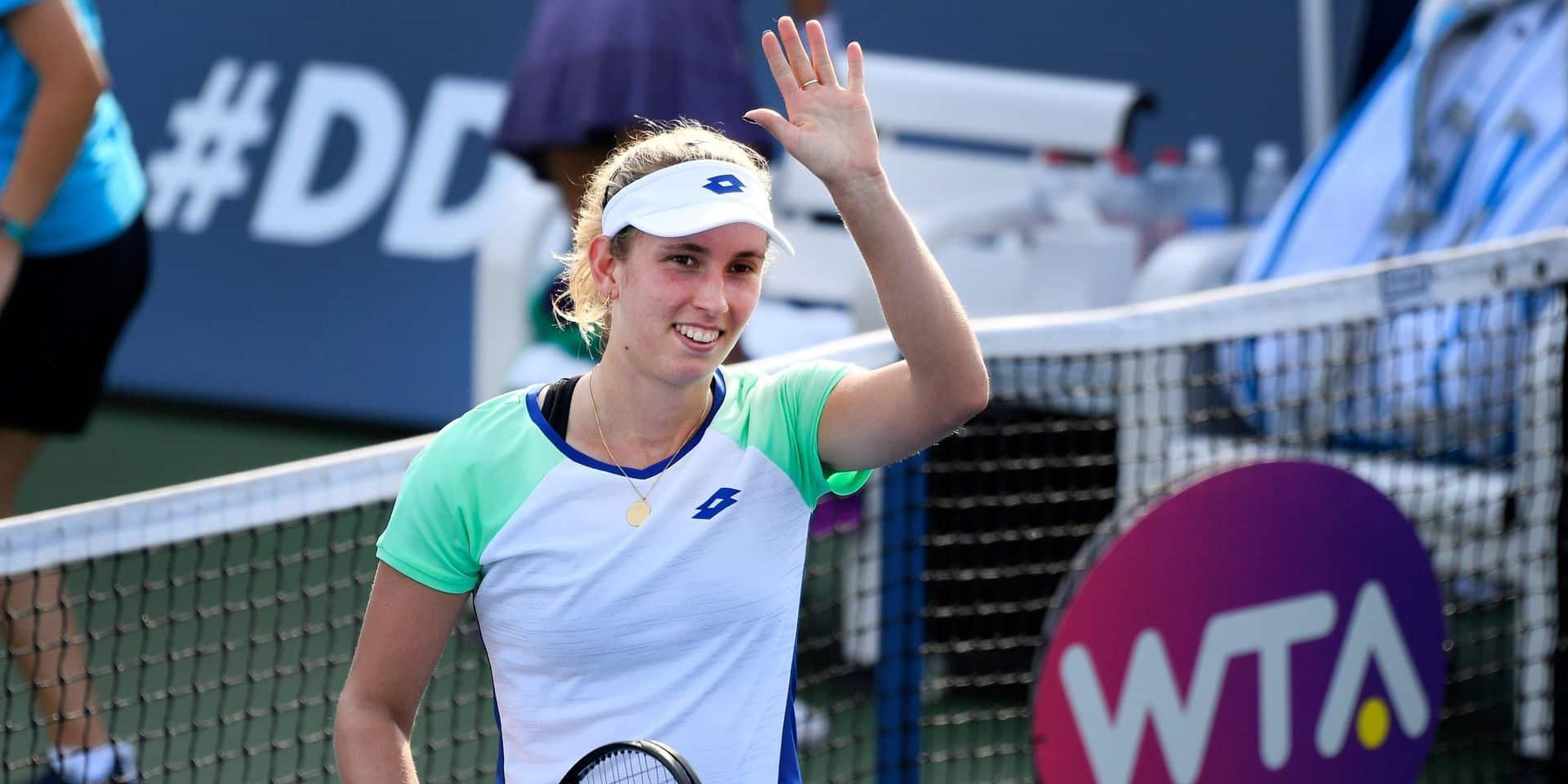 Elise Mertens et Flipkens passent le premier tour à Cincinnati, Mertens le 2e en double, Alison Van Uytvanck éliminée