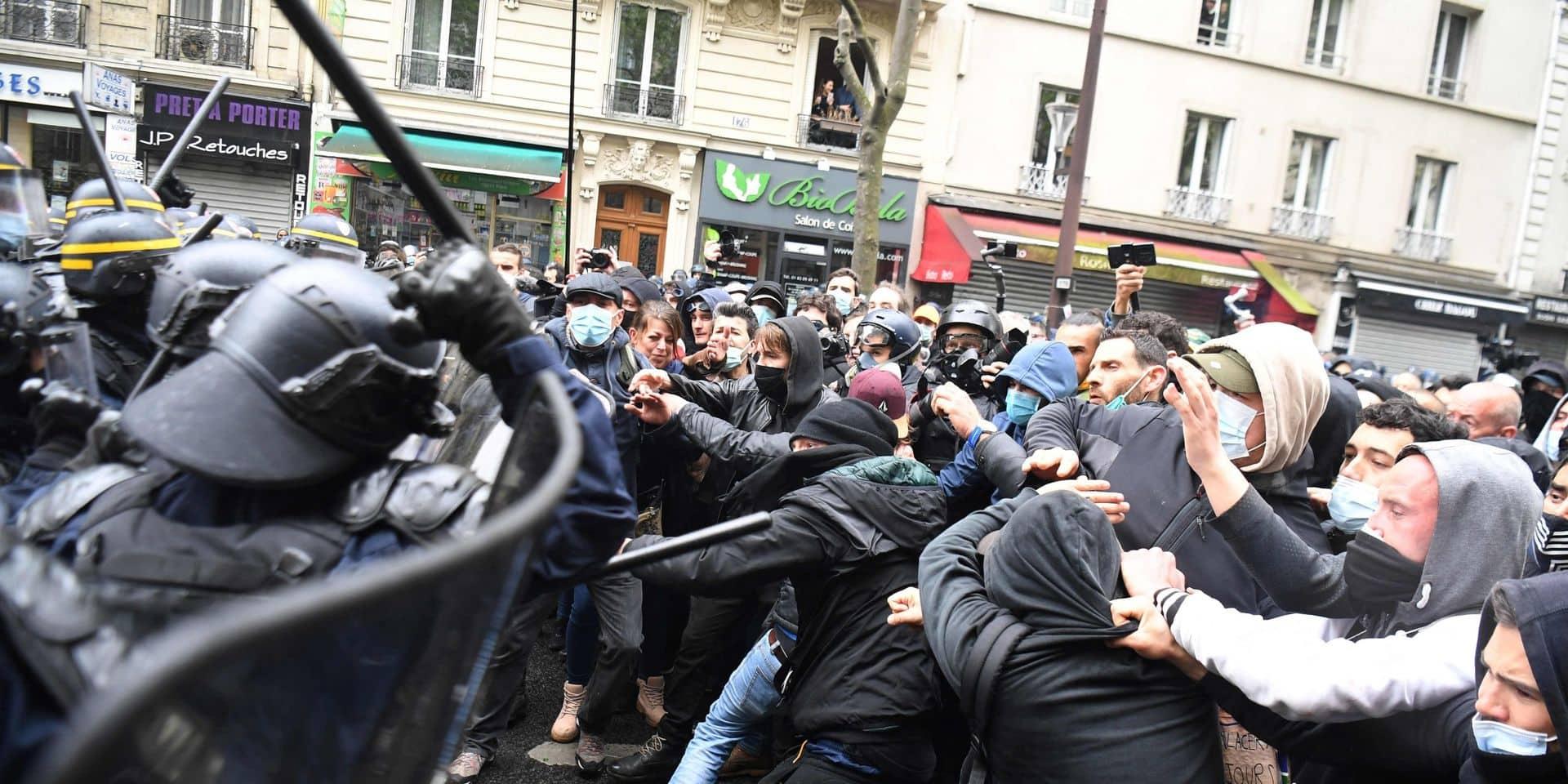 France: condamnations après les violences durant la manifestation du 1er-Mai
