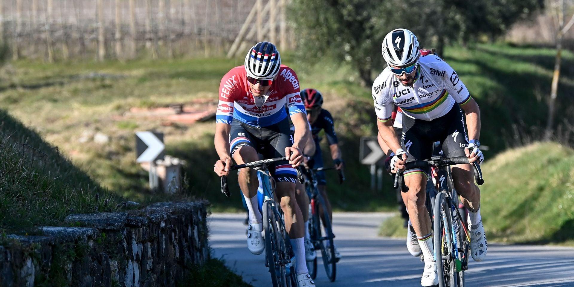 Van der Poel-Alaphilippe: pour Wout Van Aert, le danger viendra surtout de ces deux-là à Milan-Sanremo