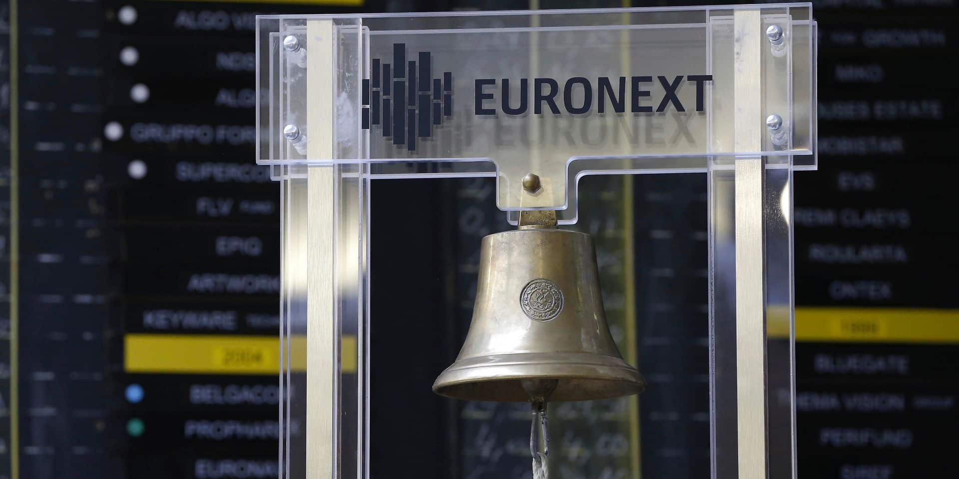 Les Bourses européennes partagées, le Bel 20 dans le rouge