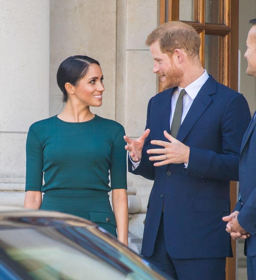 Le duc et la duchesse de Sussex se sont dévorés des yeux à plus d'une reprise.