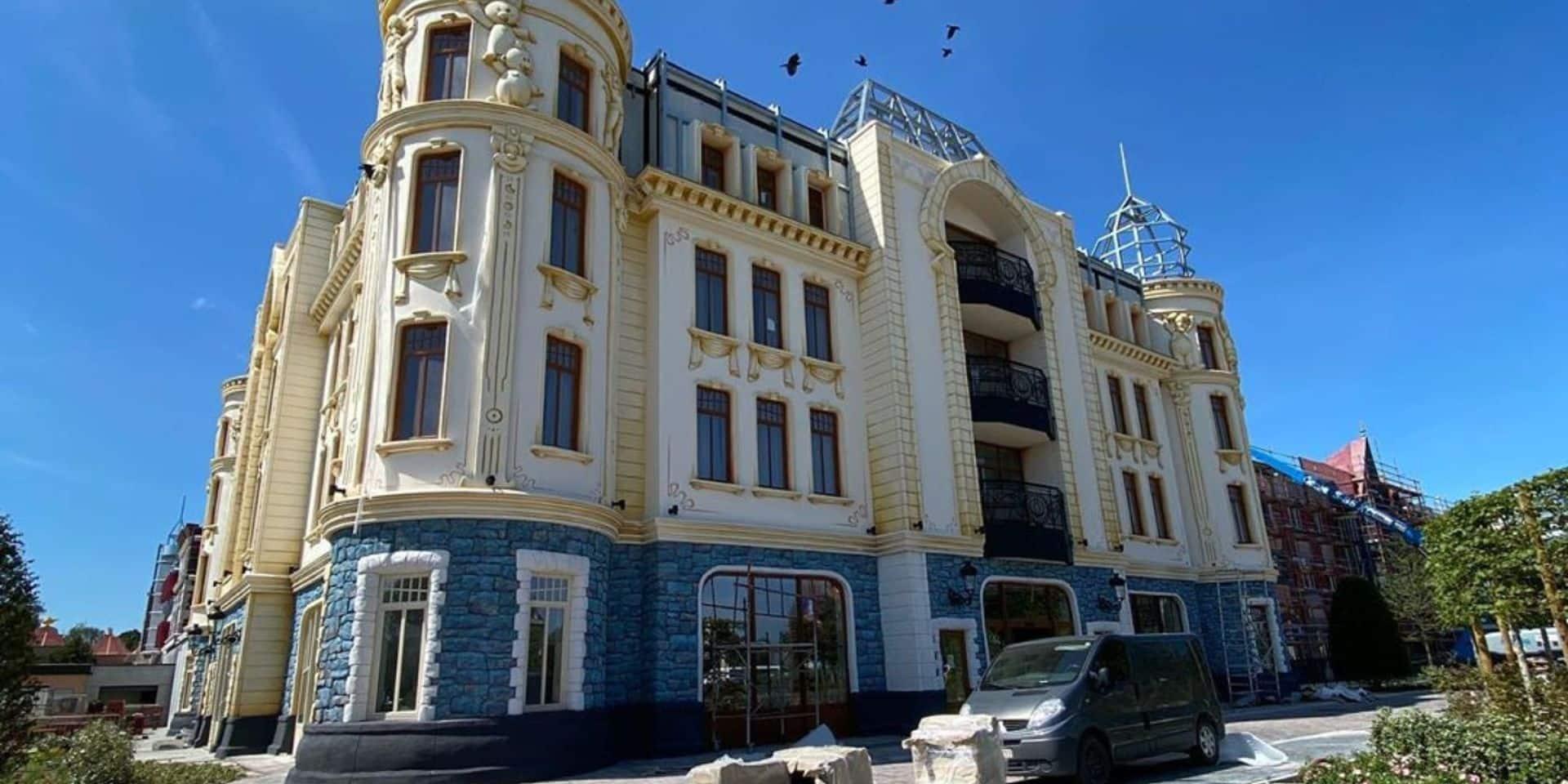 L'ouverture de l'hôtel Plopsa est reportée