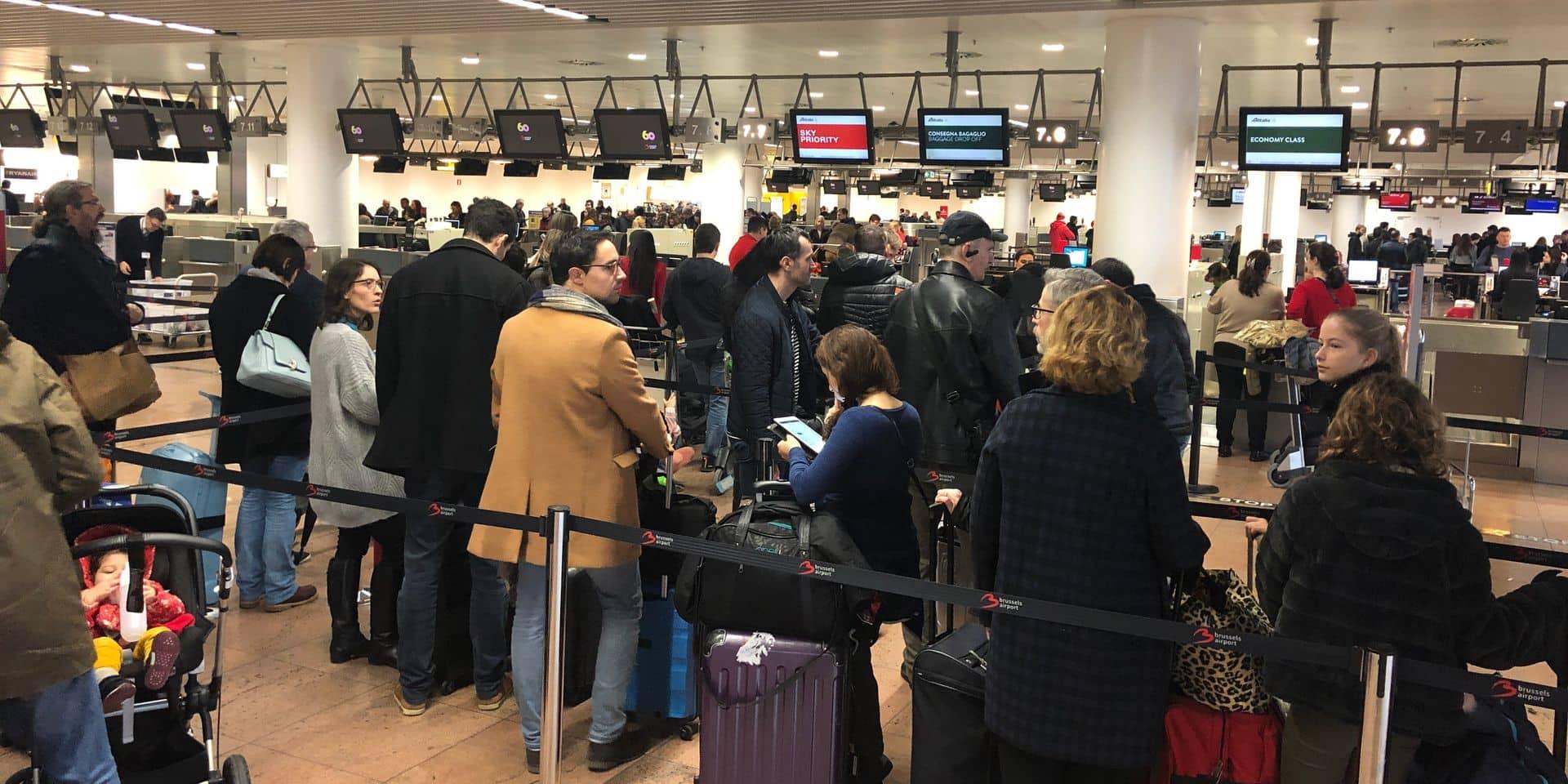 Près de 25,7 millions de passagers à Brussels Airport l'an dernier, un record historique