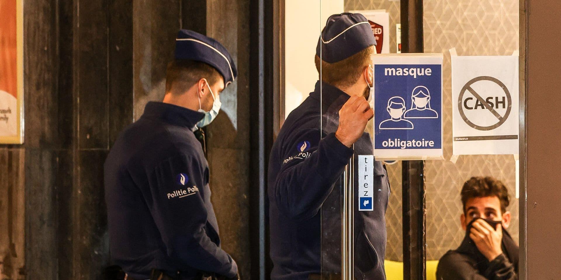 Un policier blessé lors d'une intervention pour non port du masque