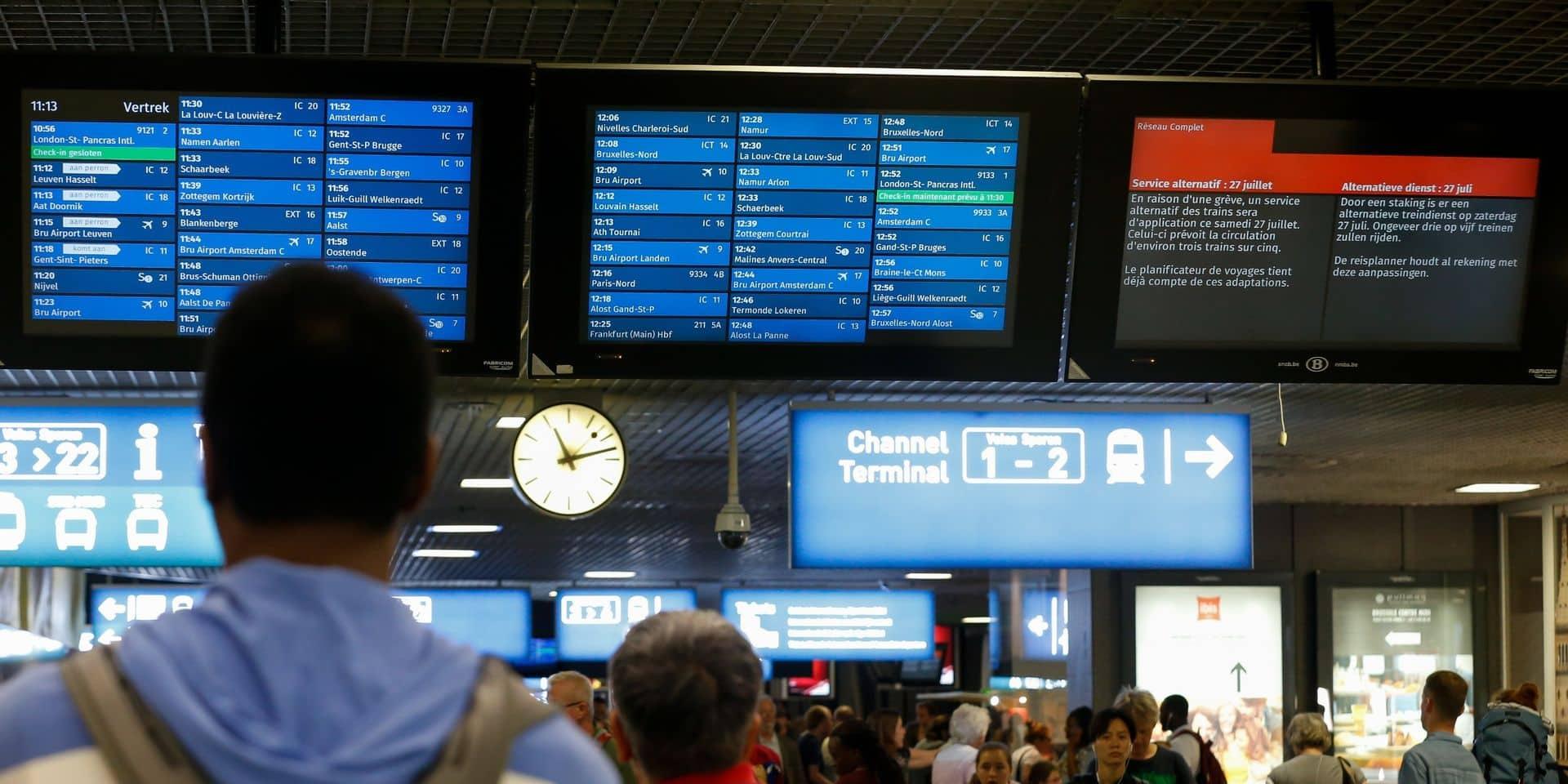La ponctualité des trains s'élève à 90,4% pour l'année 2019, un record depuis 2015