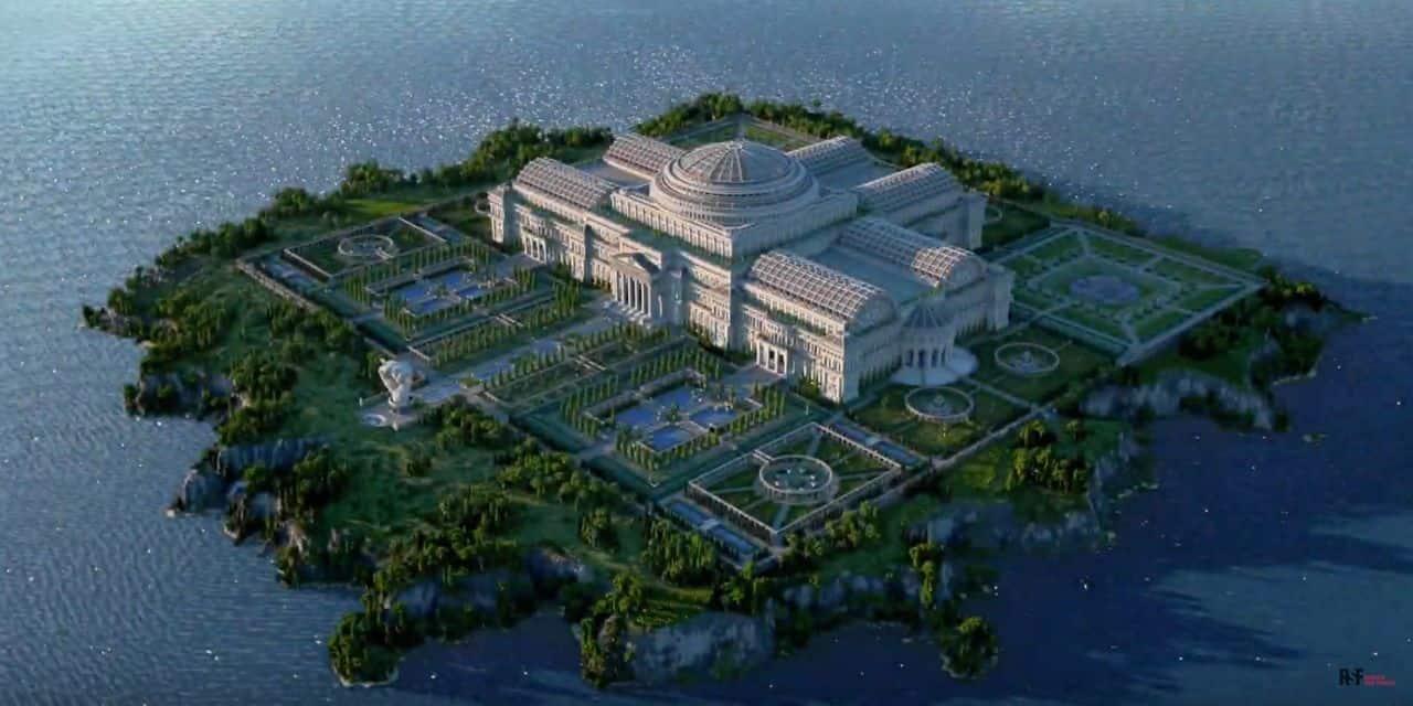 Une bibliothèque virtuelle sur Minecraft pour... combattre la censure