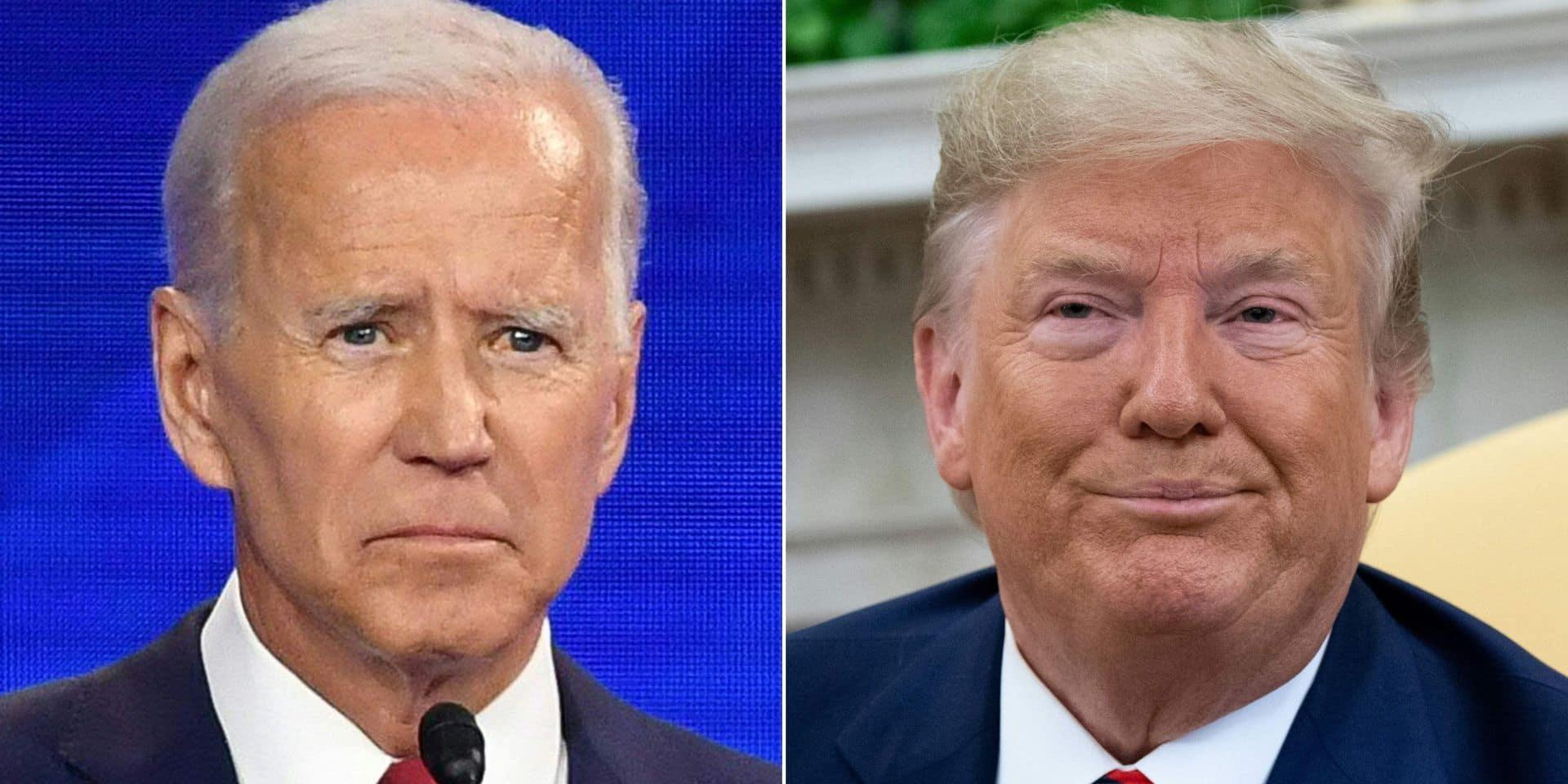 Donald Trump s'emporte contre le démocrate Biden et lui lance de nouvelles accusations non vérifiées