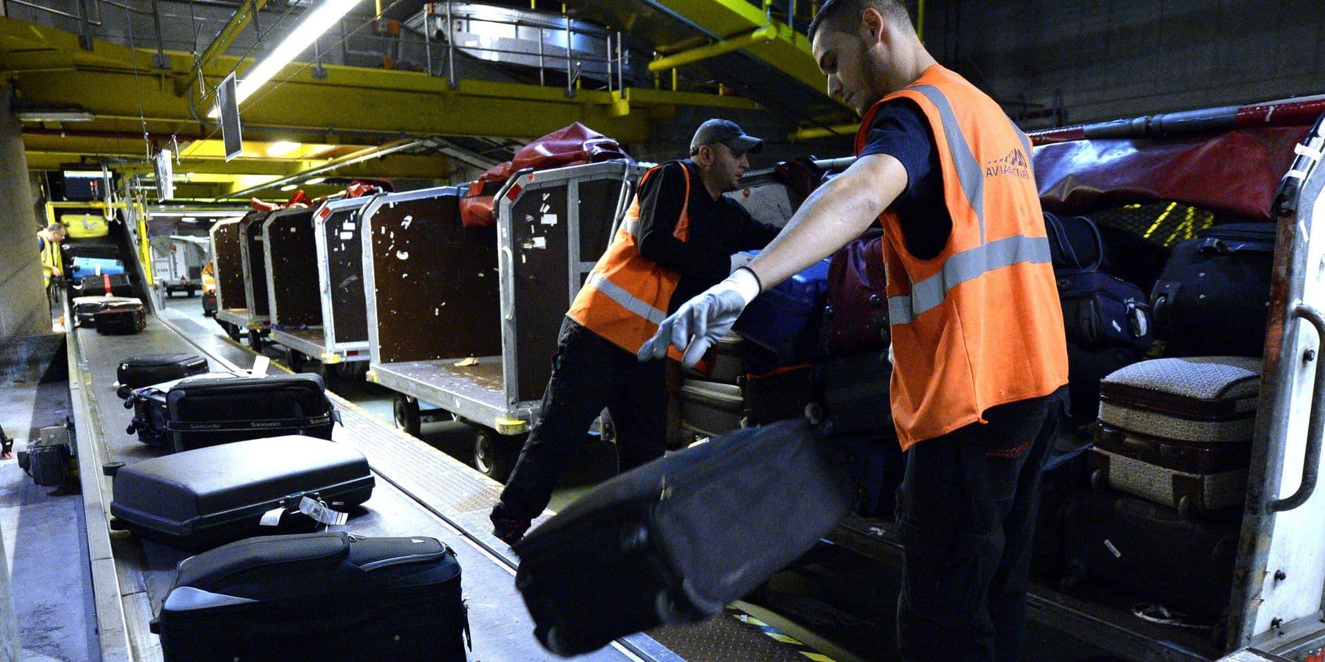 Les bagagistes de Brussels Airport à nouveau dans le rouge