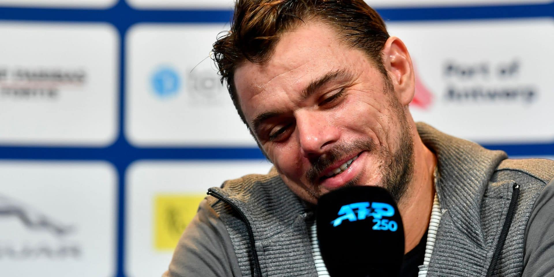 """Stan Wawrinka participe à l'ATP d'Anvers: """"Ma première fois en Belgique"""""""