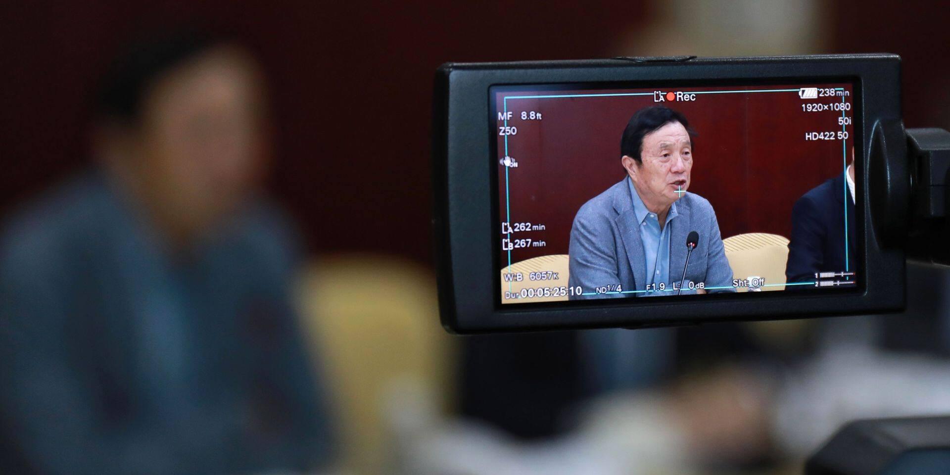 """Soupçons d'espionnage: le patron de Huawei espère une """"ouverture"""" de l'administration Biden"""