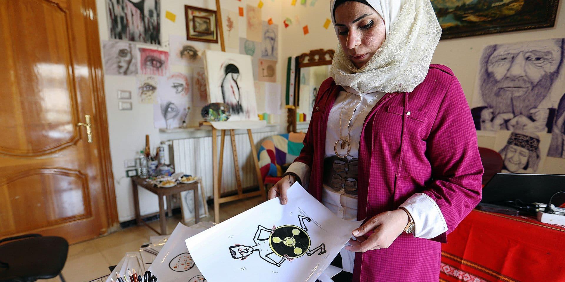 À Idleb, en Syrie, l'art de résister par la caricature