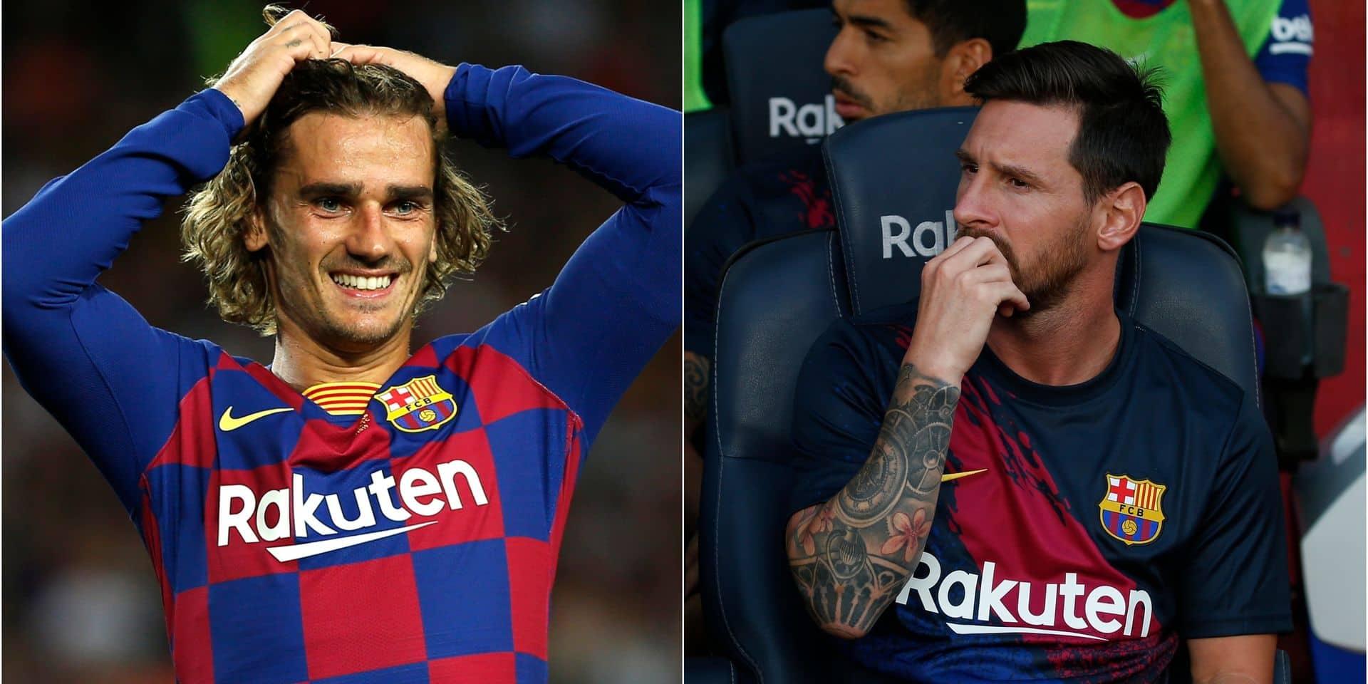 Messi a-t-il ignoré Griezmann ?