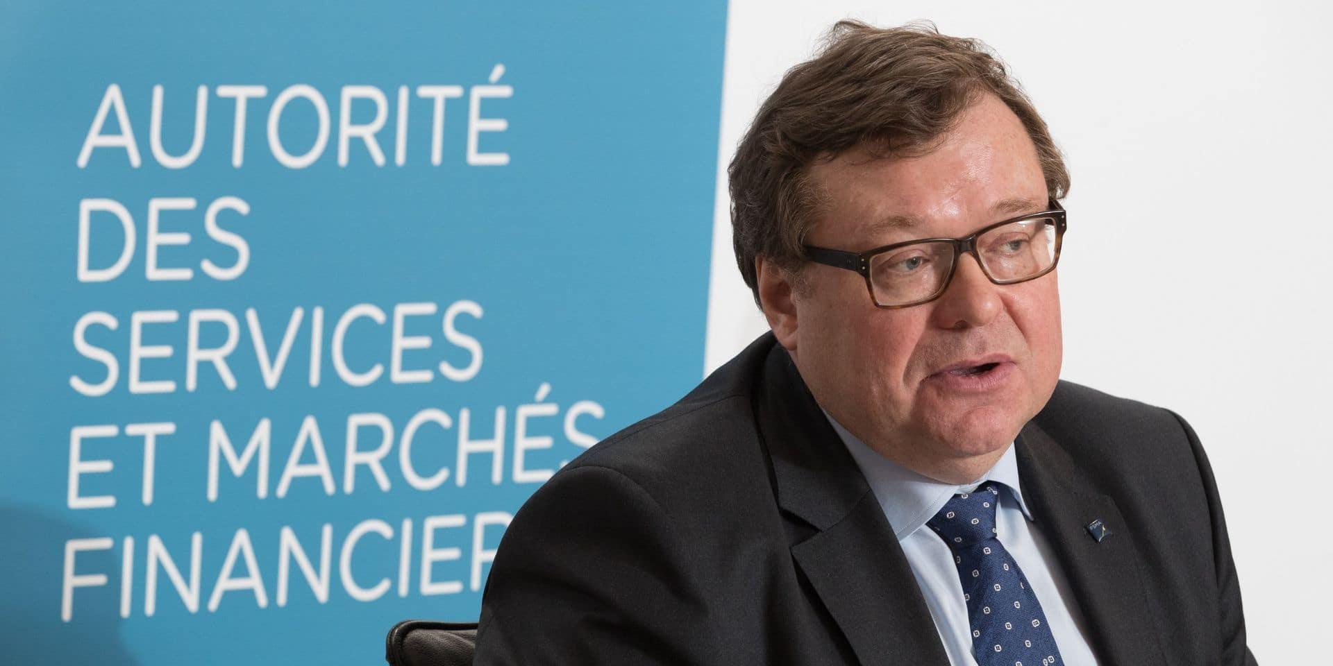 Jean-Paul Servais, président de la FSMA