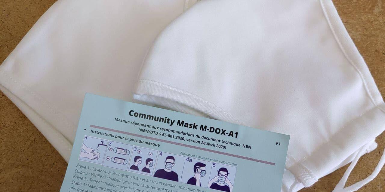 La présence de nanoparticules pousse le fédéral à déconseiller ses masques gratuits - lalibre.be