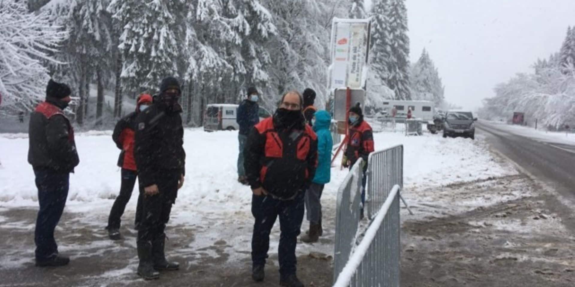 Une centaine de personnes évacuées par la police à la Baraque de Fraiture