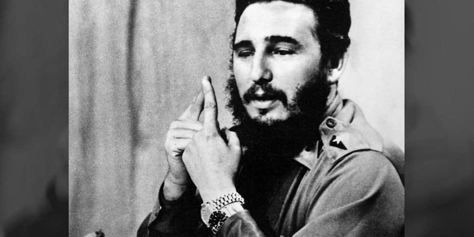 Pourquoi Fidel Castro portait-il deux Rolex ?