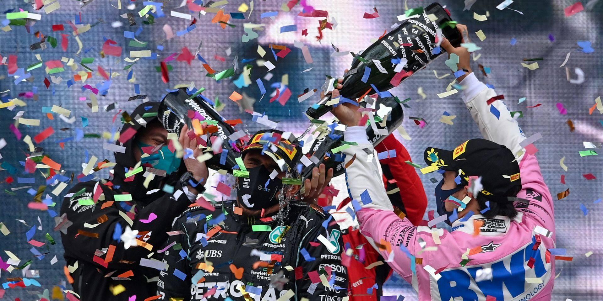 """""""Hamilton est le plus grand pilote de notre époque"""": le vibrant hommage de Vettel après le sacre du Britannique"""