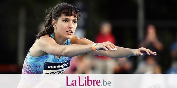 Belgian Claire Orcel pictured during the 40th edition of the KBC Nacht van de Atletiek athletics meeting, in Heusden-Zolder, Saturday 20 July 2019. BELGA PHOTO ERIC LALMAND