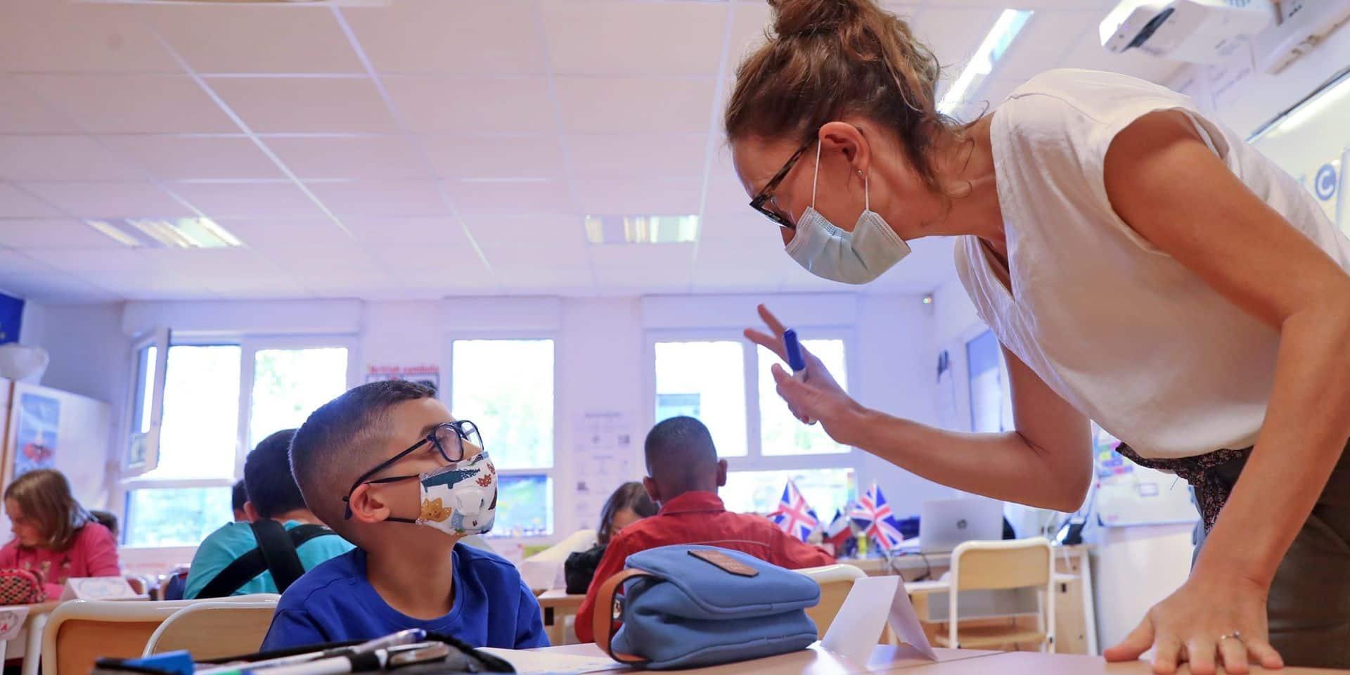 Coronavirus: la Flandre utilisera des tests rapides pour les élèves et enseignants à certaines conditions
