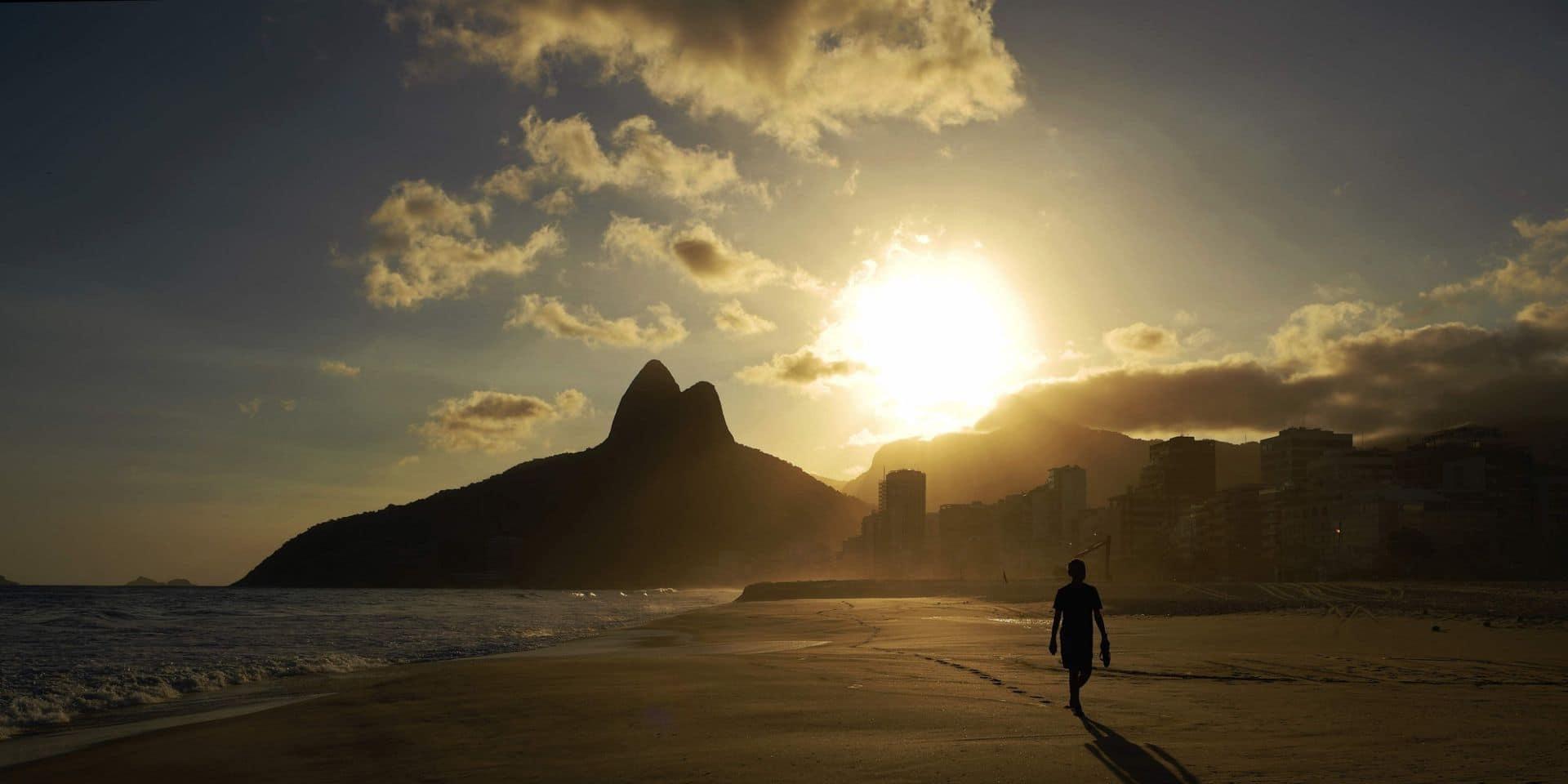 Brésil: réouverture des bars et restaurants à Rio de Janeiro