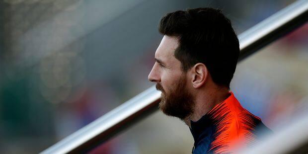 Lionel Messi aura le droit d'enregistrer sa marque d'articles de sport - La Libre