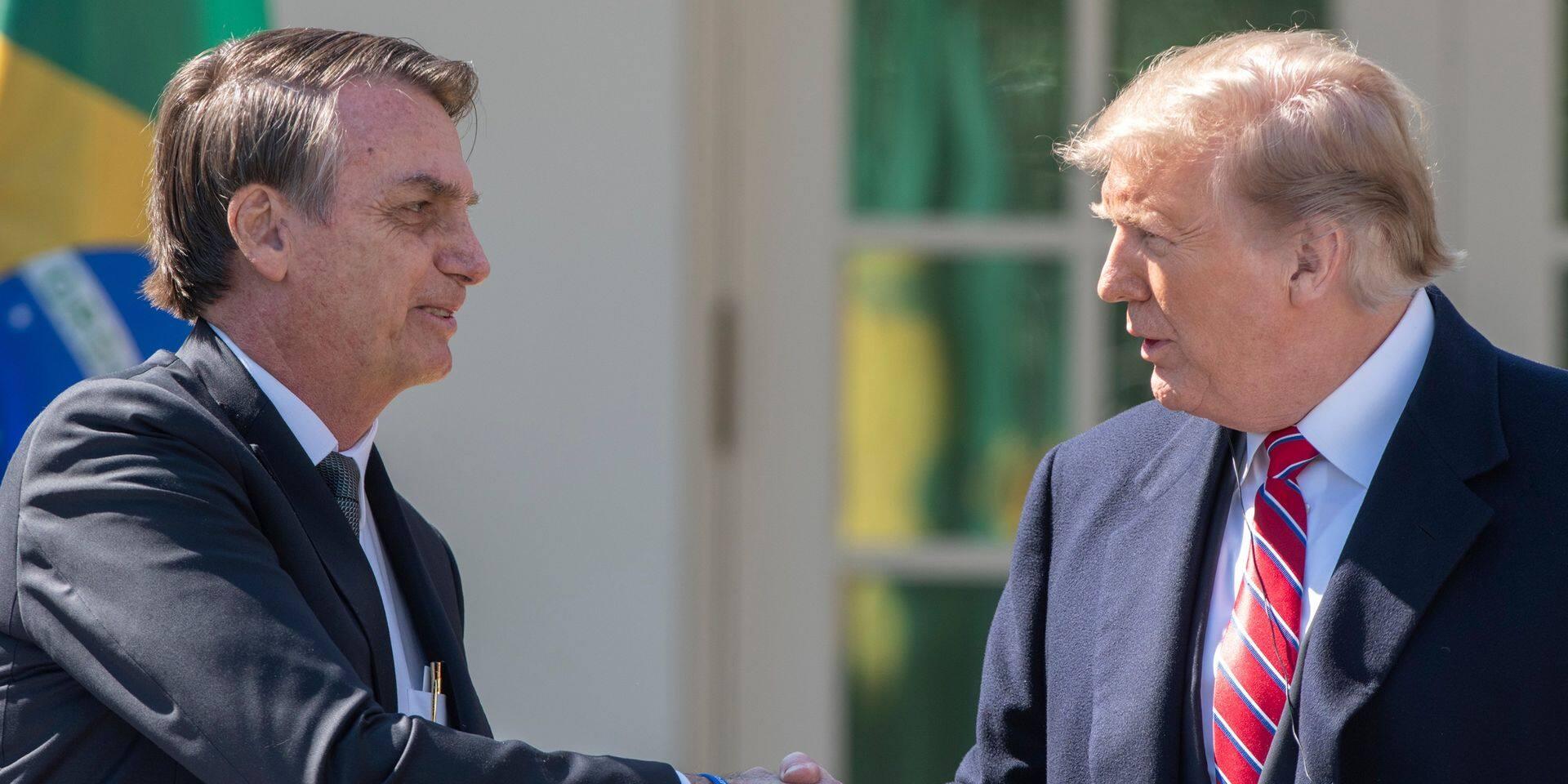 Le Brésil peut compter sur Donald Trump pour adhérer à l'OCDE
