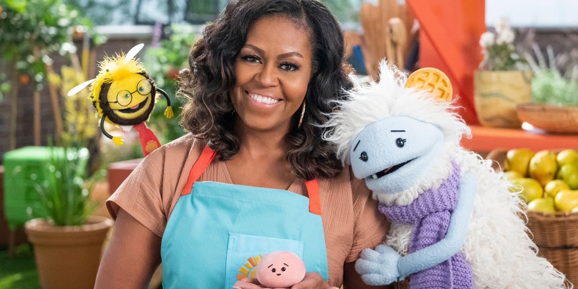Michelle Obama sera la vedette d'une émission de cuisine pour enfants sur Netflix