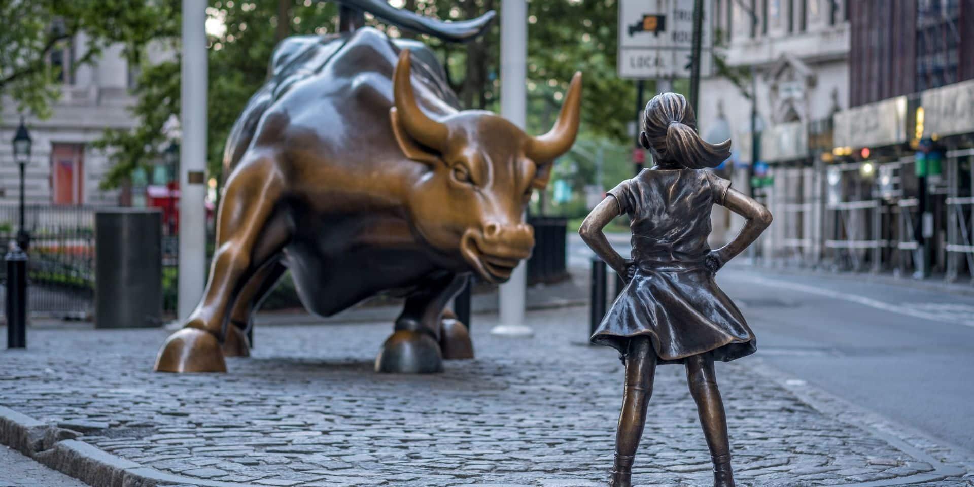 Wall Street en hausse à quelques heures de la prestation de serment de Biden