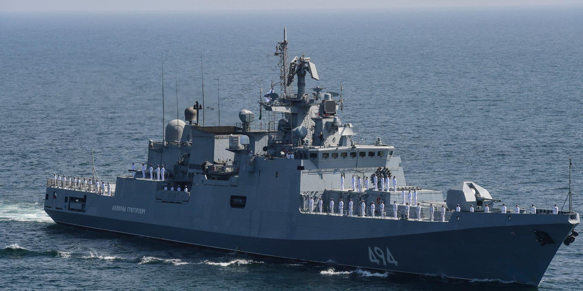 Pourquoi la marine russe est de plus en plus présente près des côtes belges