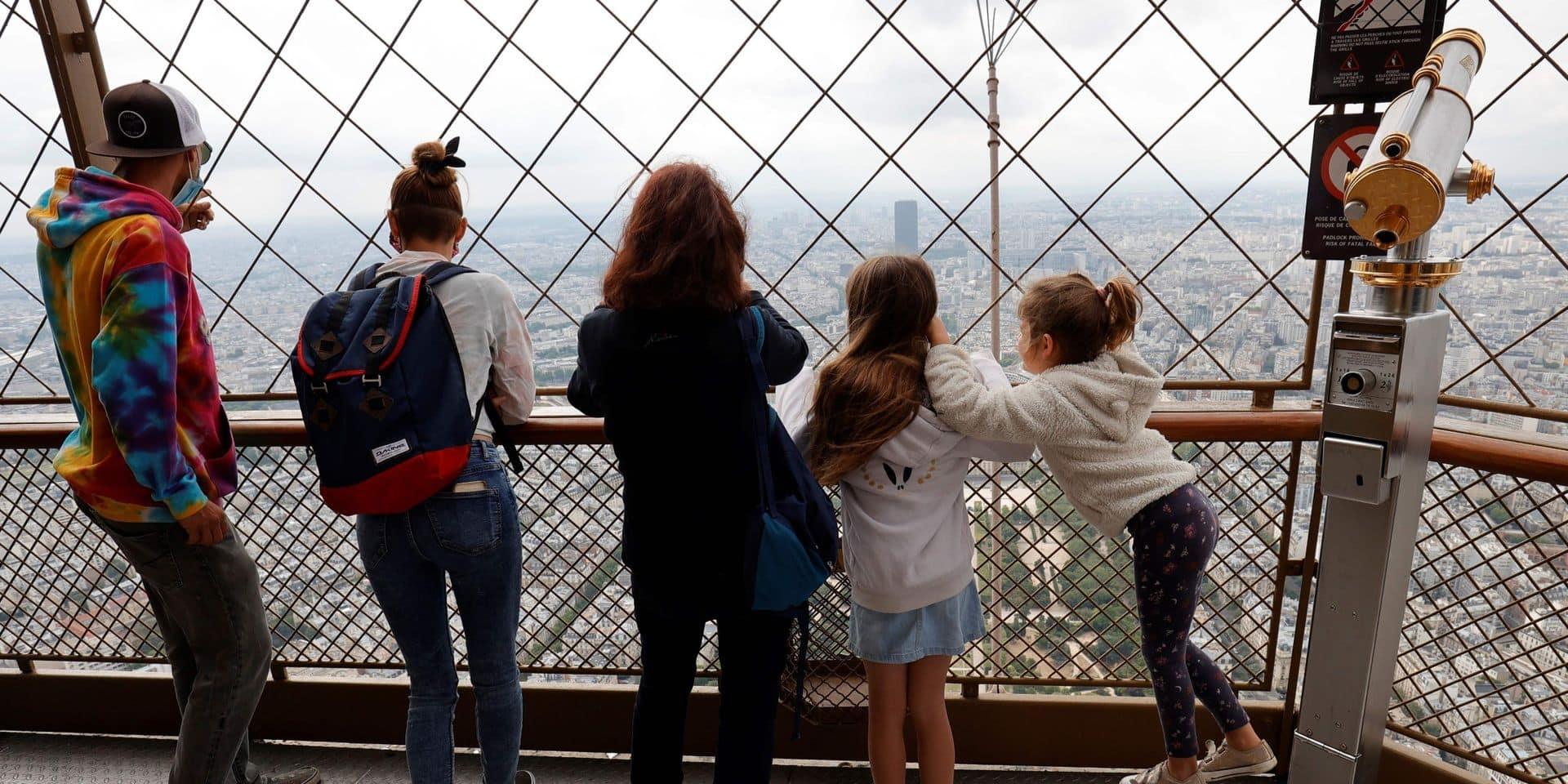 Le troisième étage de la Tour Eiffel rouvre à son tour