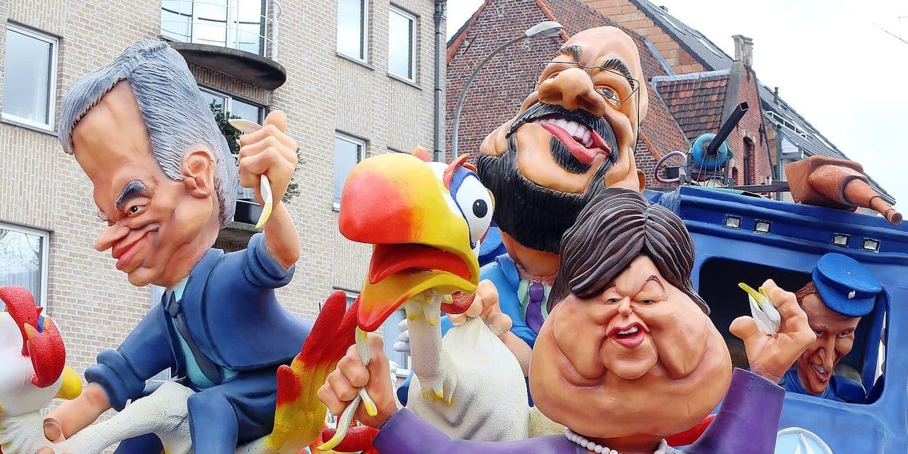 Le carnaval d'Alost fracasse la N-VA
