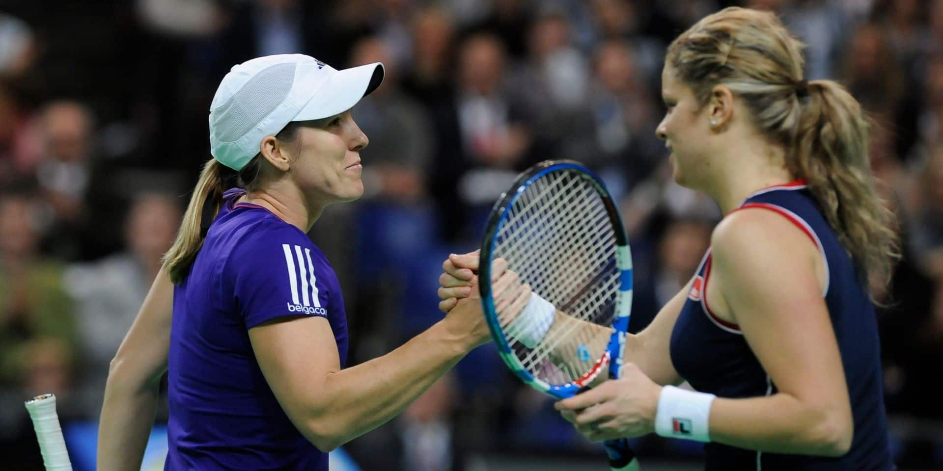 """Justine Henin revient sur son parcours et sa rivalité avec Clijsters: """"Je n'aurais pas eu la même carrière sans elle"""""""