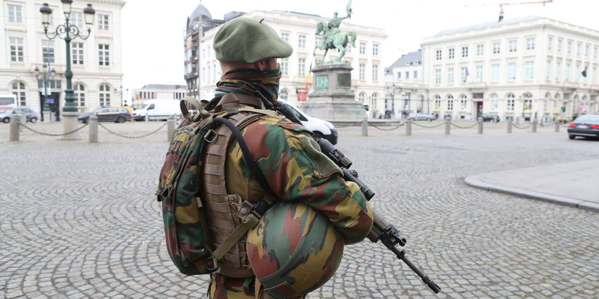 Les militaires maintenus en rue jusqu'au 2 octobre