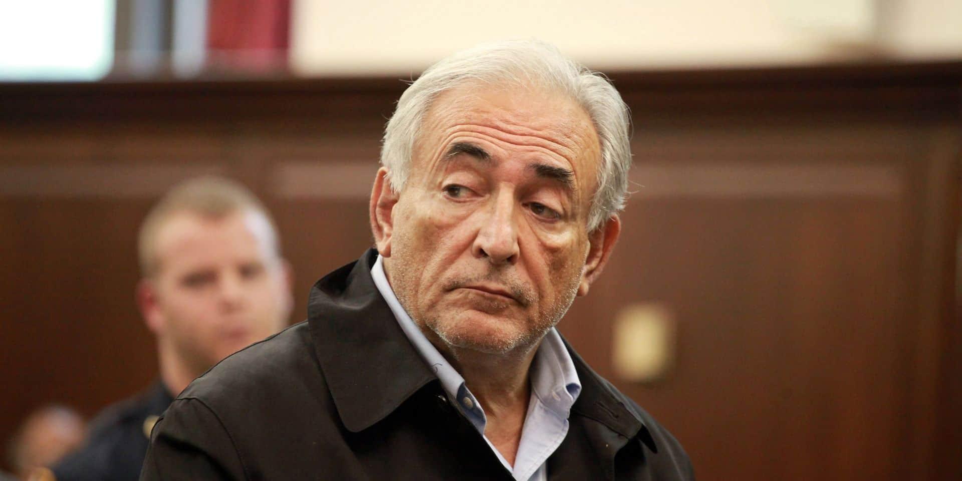 Dominique Strauss-Kahn in New York court