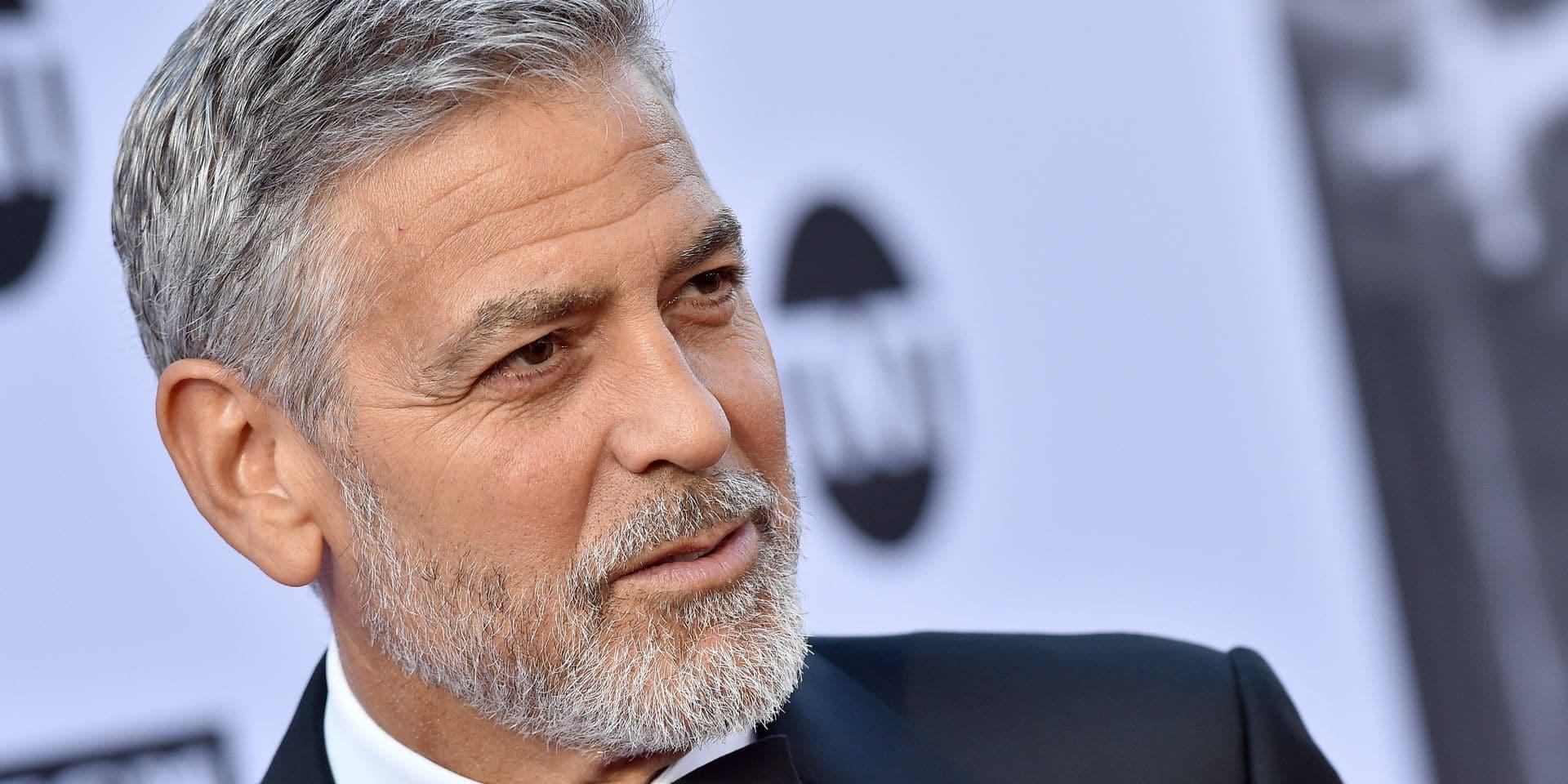 Accident de scooter de George Clooney : la vidéo choc